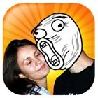 Troll Face Camera & Meme Creator: Rage Comic Maker icon
