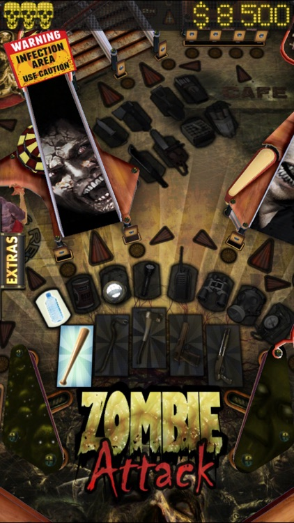 Zombie Attack Pinball HD: Monster Challenge