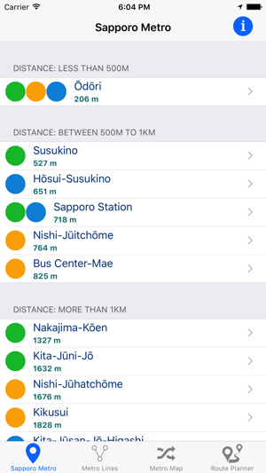 Sapporo Municipal Subway Map.Sapporo Municipal Subway