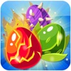 Monster Eggs Mania - The Adventure Free Match 3