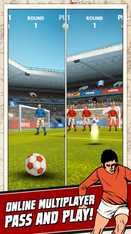 Flick Kick Football Kickoff screenshot-2