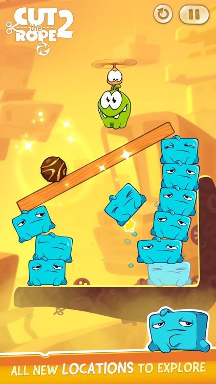 Cut the Rope 2 screenshot-1