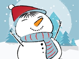 Bring a touch of Christmas to your iMessage with this snowman sticker pack