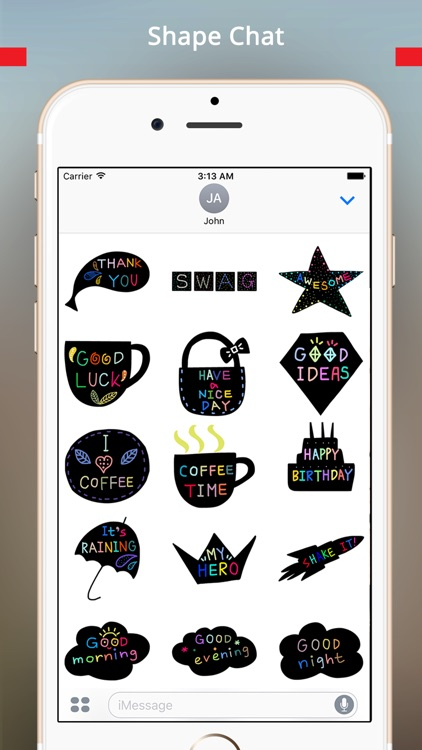 StiPia - BlackChat Stickers