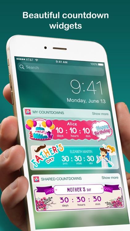 Countdown sticker - Fancy countdown widget & timer screenshot-0