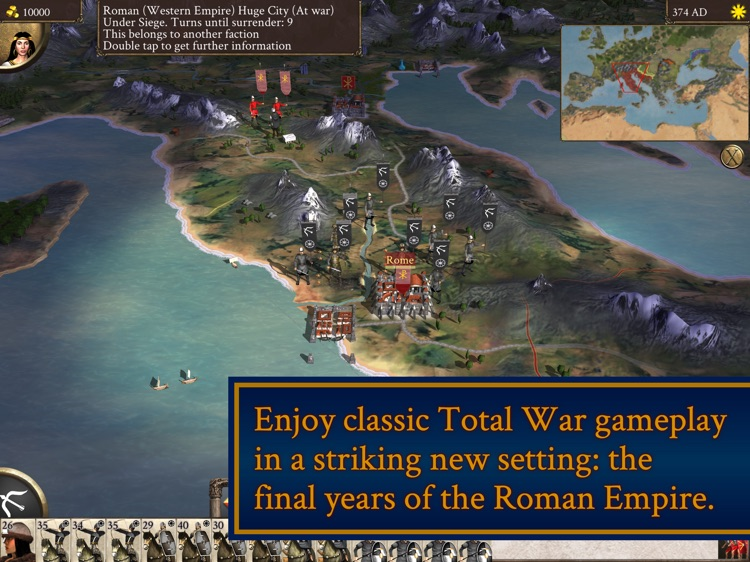 ROME: Total War - Barbarian Invasion screenshot-0
