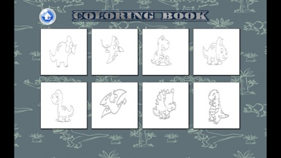 Coloring Book - T rex Dinosaur Kids Learn To Paint screenshot four
