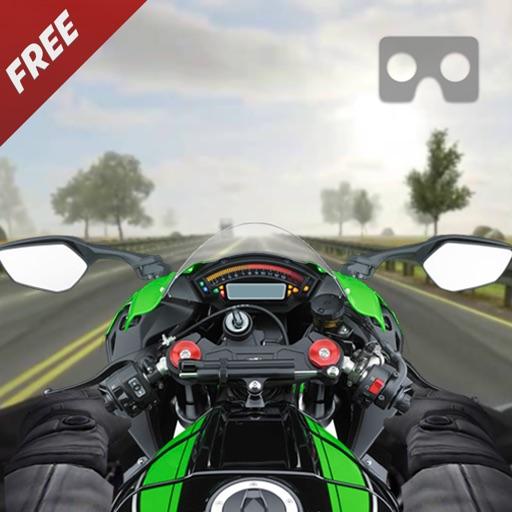 VR гонки сумасшедший мотоцикл трафика - бесплатные