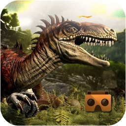 VR Dino Park Tour: Real Jurassic Experience