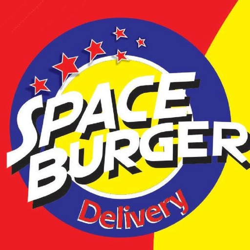 Space Burger Delivery app logo