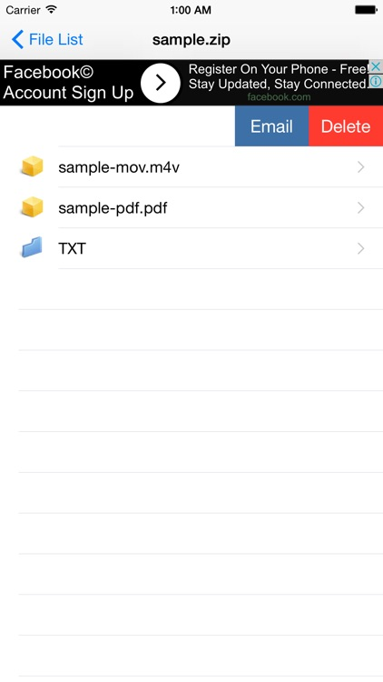 Zip File Viewer