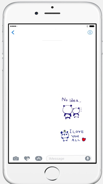 Happy panda stickers!!