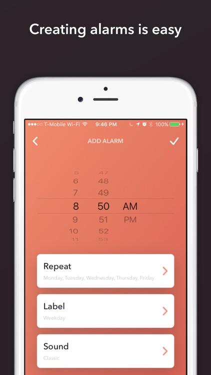 Wakelight - Alarm Clock for Weather & Meetings screenshot-3
