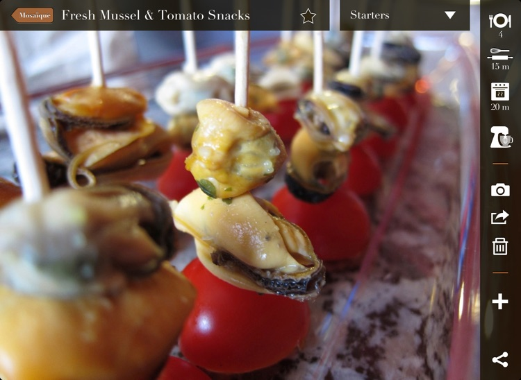 CookPix, my own visual cookbook