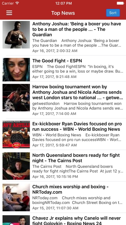 Boxing News Now - Schedules & Latest Results