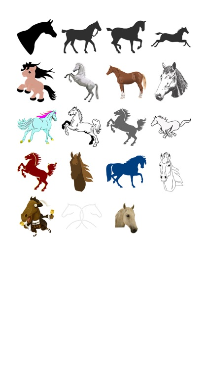 Horse Two Sticker Pack