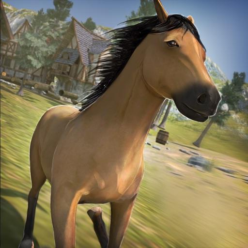 мой конь гонки | онлайн животное гонка игра