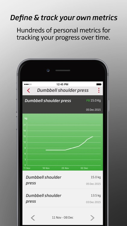 CustomFit by Fitness First screenshot-4