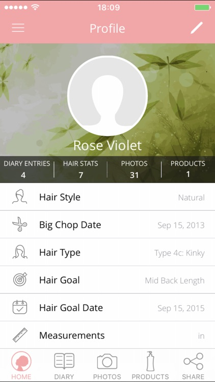 Hair Journal Pro screenshot-0