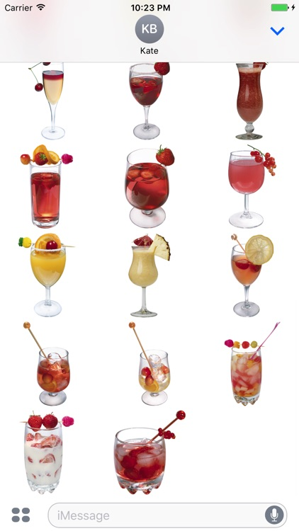 Drinks Sticker screenshot-3