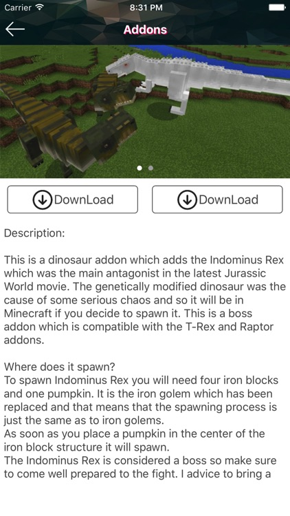 Game Maps & Addons for Minecraft PE