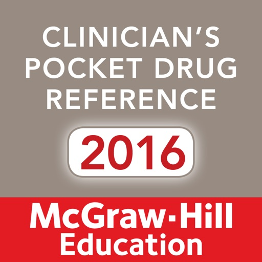 Clinician's Pocket Drug Reference 2016