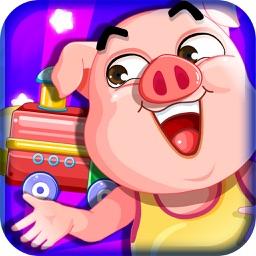 粉红小猪快乐房间-修理养成计划儿童游戏