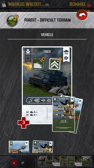 WWII Tactics Card Game screenshot one