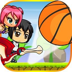 Children VS Basketball - Rolling & Bouncing Ball