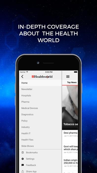 ETHealthWorld Screenshot