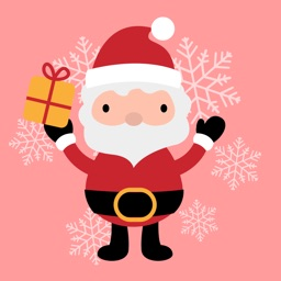 New Year Santa Claus Stickers