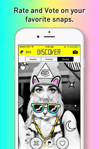 OKJUX - Discover awesome sticker art nearby! - náhled