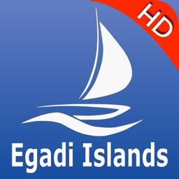 Egadi Islands GPS Nautical charts pro