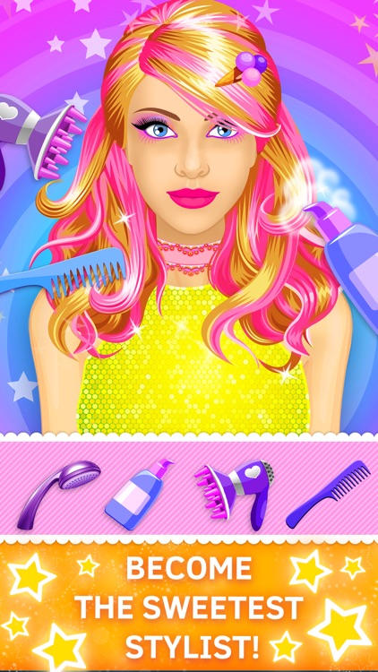 Candy Salon: Makeover Games for Girls screenshot-3