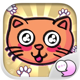 Crazy Catz Stickers Emoji Keyboard By ChatStick