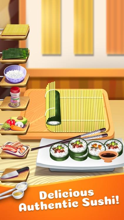 Sushi Food Maker Cooking Kids Games (Girls & Boys)