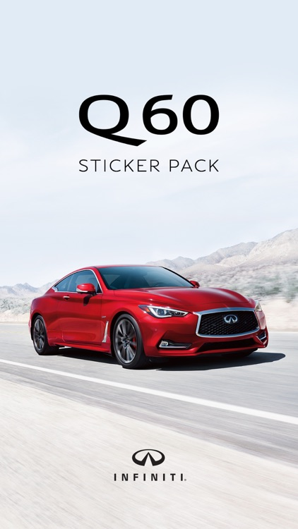 INFINITI Q60 Sticker Pack