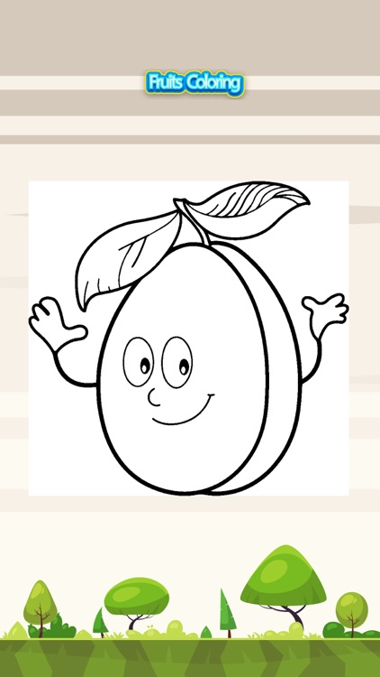 Fruits Splash Coloring Book for Kids Painting Game by WIRUL ...