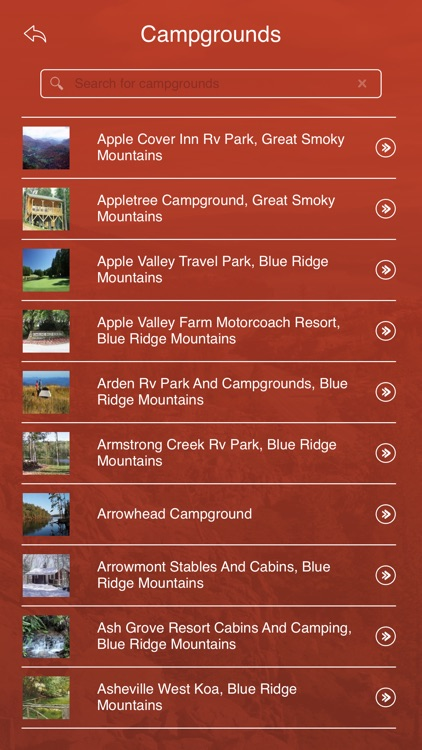 North Carolina State Parks, Trails & Campgrounds screenshot-2