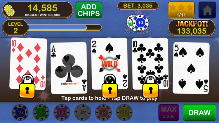 Video Poker Jackpot! - The original and best.