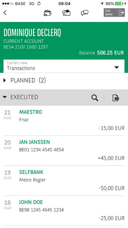 Easy Banking for smartphone