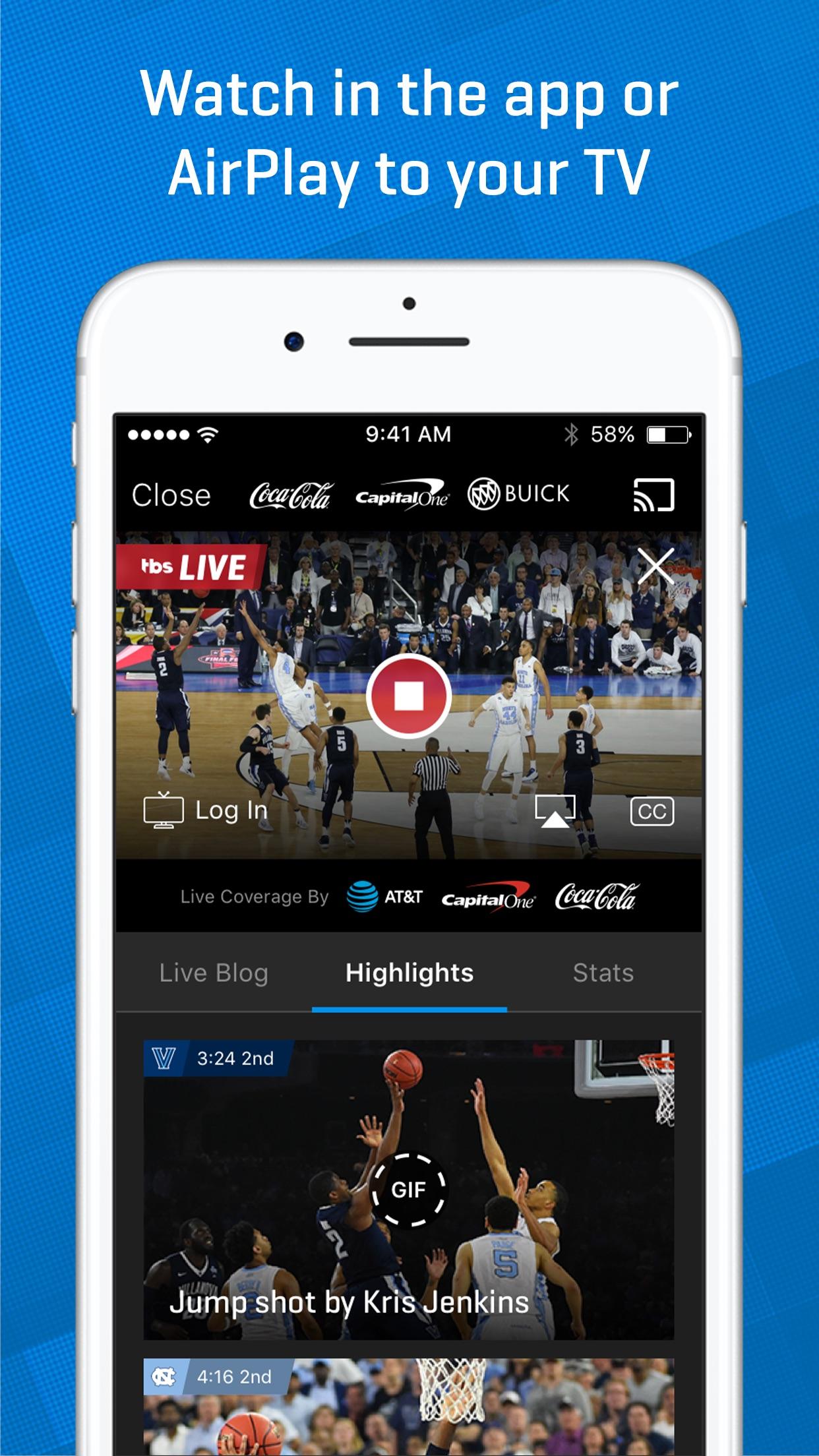 NCAA March Madness Live - Men's College Basketball screenshot-3