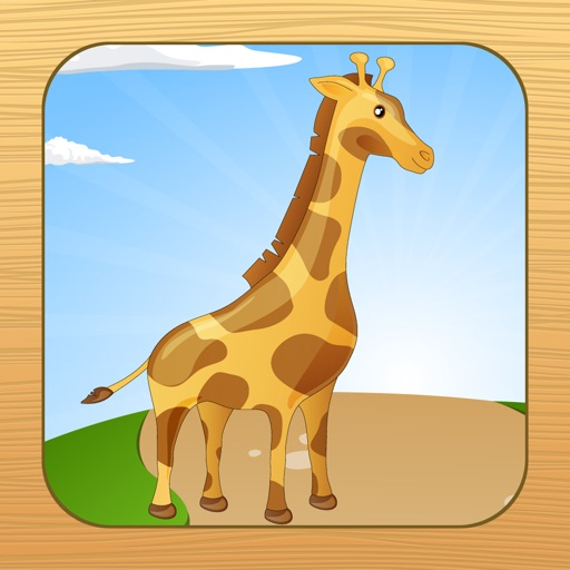 Easy Animal Puzzles for Toddlers and Kids