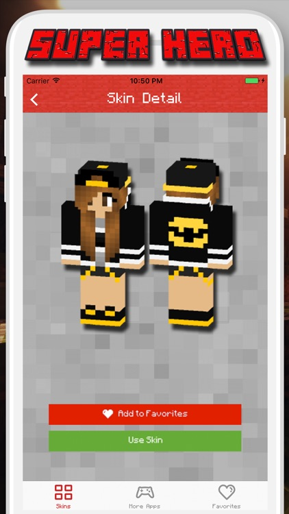 Super Hero Skins for Minecraft PE - Pocket Edition screenshot-4