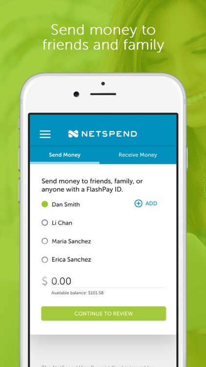 Netspend screenshot-2