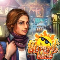 sunset street : hidden object mystery