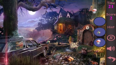 Hidden Objects Of A Tapped In The Dark screenshot one