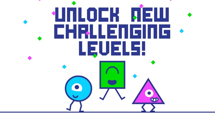 STC - Square Triangle Circle fast-paced platformer screenshot-4
