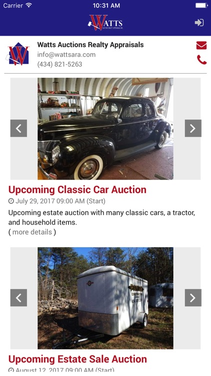 Watts Auctions