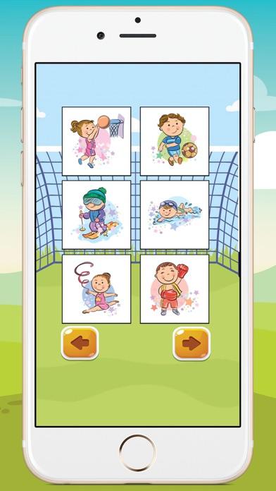 Kids Sport Coloring Book screenshot two